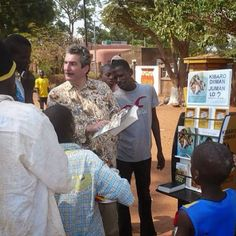 Cart Witnessing in Africa