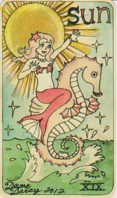 Dame Darcy Mermaid Tarot - Google Search