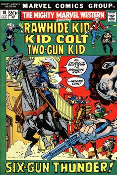 Rawhide Kid by Gil Kane