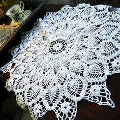 Lovely Vintage Crochet Doily