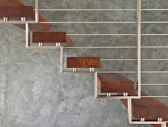 Professionals in staircase design, construction and stairs installation. In addition EeStairs offers design services on stairs and balustrades. Modern Stair Railing, Metal Stairs, Stair Handrail, Staircase Railings, Modern Stairs, Stairways, Banisters, Interior Staircase, Staircase Design