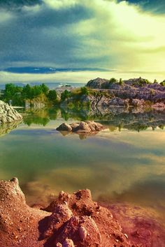 deserted tin-mine in Bangka island Bangka Island, Belitung, Before Sunset, Water, Photos, Outdoor, Image, Beautiful, Gripe Water