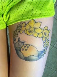 totoro tattoo - Google Search