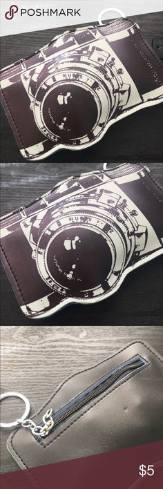 Camera coin purse 👛 New old school 📷 camera coin purse. minky Accessories Key & Card Holders