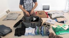 Very cool packing method I've never seen before. Will definitely try it with my next trip! Video Demo: The Bundled Packing Method Fits More Clothes with Fewer Wrinkles Travel Outfit Spring, Canada Vancouver, Bon Plan Voyage, Like A Pro, Packing Tips For Travel, Travel Hacks, Packing Tricks, Suitcase Packing, Packing Ideas
