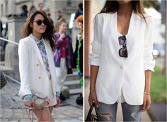The White Blazer | Rue