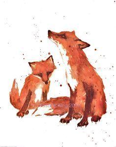 red fox tattoos - Buscar con Google