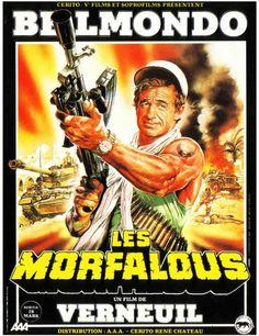 LES MORFALOUS - BOX OFFICE JEAN-PAUL BELMONDO 1984