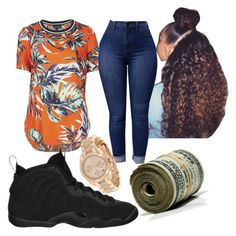 """Untitled #209"" by vjur-tw ❤ liked on Polyvore featuring Topshop, NIKE and MICHAEL Michael Kors"