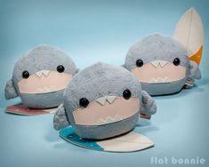 Shark Stuffed Animal, Cute Stuffed Animals, Cute Baby Animals, Cute Shark, Baby Shark, Shark Fin, Shark Week, Shark Plush, Doll Toys