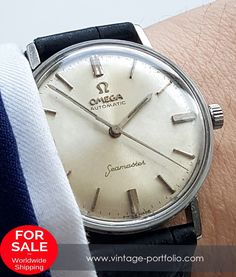 Genuine Omega Seamaster Automatic in Steel #omegaseamaster #seamaster #omega #omegawatches