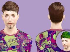 S-club MK N4 Male Hair - The Sims 3 - SimsDomination