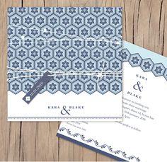 new orleans -Lilykiss wedding invitation