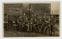 A Royal Welsh Fusiliers Platoon at Kinmel Camp, Bodelwyddan, 1916 World War One, First World, Royal Welsh, Second Lieutenant, Troops, Westerns, Camping, North Wales, Training