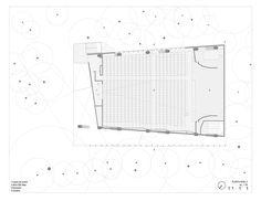 Image 25 of 31 from gallery of La Enseñanza School Auditorium / OPUS + MEJÍA. Planta Nivel 2
