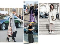 FASHION TREND: Long Winter Skirts
