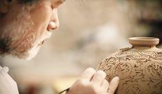 Confira vasos de cerâmica de artistas coreanos   #Coreanos, #CoréiaDoSul, #Icheon, #Mestres, #Tradição