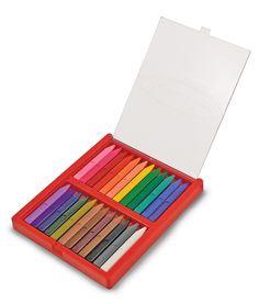 boîte de 24 crayons triangulaires melissa and doug