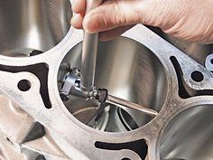 Engine bore measuring Custom Trucks, Custom Cars, Gas Powered Scooters, Japanese Sports Cars, Motor Works, Chevy Silverado 1500, Engine Rebuild, Car Repair, Diy Garage