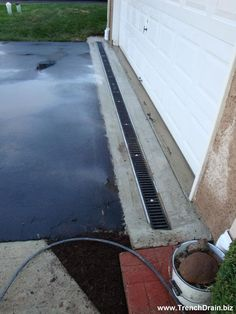 How to Install French Drain In Backyard . How to Install French Drain In Backyard . Downspout Drainage Ideas Diy Best Of Trench Drain Gutter Drainage, Backyard Drainage, Landscape Drainage, Backyard Landscaping, Driveway Drain, Deck Drain, Drainage Solutions, Drainage Ideas, Floor Drains