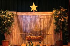 At our Church Christmas party the Primary children had the opportunity to reenact the Christmas nativity. This year we happened to obta. Christmas Drama, Christmas Stage Design, Church Christmas Decorations, Ward Christmas Party, Christmas Program, Christmas Concert, Christmas Crafts For Kids, Christmas Skits, Christmas Art