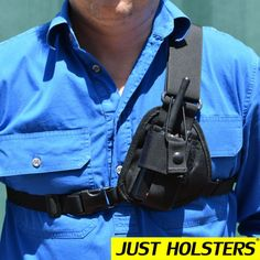 leather two way radio pouches - Google Search