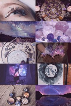 The Moon in a Jar Astrology/Cosmic Witch aesthetic bedroom Witch Aesthetic, Aesthetic Collage, Purple Aesthetic, Crystal Aesthetic, Wiccan, Magick, Witchcraft, Writing Inspiration Prompts, Writing Prompts