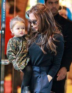 Victoria and David Beckham / Children Brooklyn, Romeo, Cruz and Harper