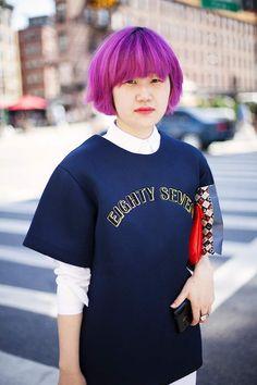 6f2bb0fec Lavanda, verde agua, azul cielo y rosa. Las fashion insiders se rinden ante  los colores pastel (y flúor) para el pelo