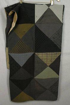 Love this prim quilt!