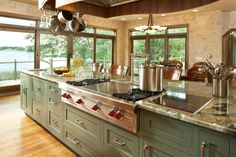 Consider this necessary graphics and look into the shown facts and strategies on kitchen island with stove Kitchen Island With Cooktop, Island Cooktop, Large Kitchen Island, Home Design, Küchen Design, Interior Design, Kitchen Layout, New Kitchen, Kitchen Decor