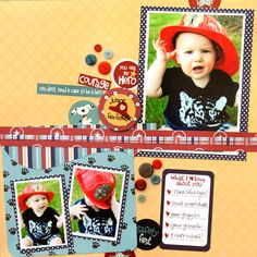 Little Boy. I think I have some of these embellishments!