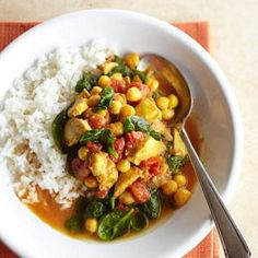 Because they can withstand a long simmering time, thighs are great choice for chicken slow cooker recipes. In this easy recipe for Indian chicken stew, the rich meat perfectly complements the deep, vivid spices.