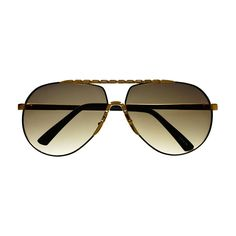 Unique Metal Celebrity Designer Fashion Large Aviator Sunglasses A1440