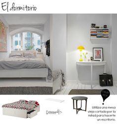 Nordic bedroom low cost