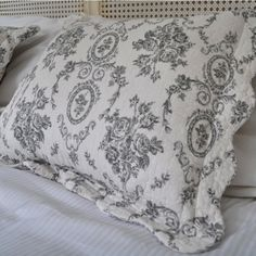 Victorian Rose Cushion - Pair - Bed Linen - Bedroom, Sweatpea & Willow, £50