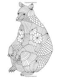 Adult Coloring Page Bulldog Boxer Dog Zentangle Doodle