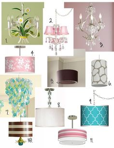 Light up your nursery! # lighting