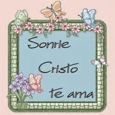 Sonríe Cristo te ama! #AmorDeDios #CristoTeAma #Dios #Amor