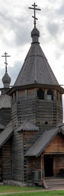 Wooden Church in Suzdal - Vladimir Oblast District | Russia