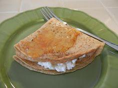 Healthified Crepe Suzette