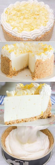 Lemon cheesecake pudding dessert is a no-bake dream! Graham crackers, lemon pudding, cream cheese and whipped topping combine in this layered lemon dessert! Chocolate Graham Crackers, Chocolate Cream Cheese, Chocolate Cupcakes, Chocolate Desserts, Chocolate Filling, Chocolate Cheesecake, Cheesecake Recipes, Cupcake Recipes, Baking Recipes