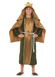 Gold Wise Man childrens dress up costume by Fun Shack