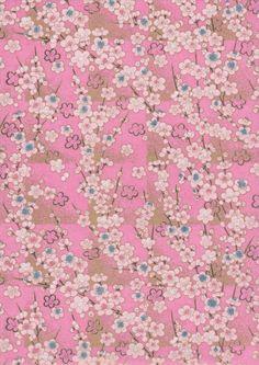 Japanese Yuzen Chiyogami Washi Paper. Japanese Textiles, Japanese Patterns, Japanese Prints, Paper Wallpaper, Flower Wallpaper, Wallpaper Backgrounds, Wallpapers, Textures Patterns, Print Patterns