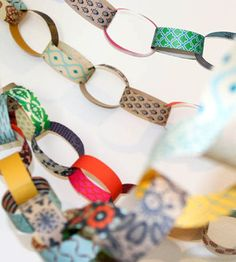 Paper Chain DIY Kit