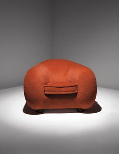 """Jean Royère,  well-named """"Ours Polaire"""" armchair."""