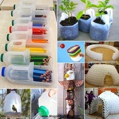 25 DIY Ideas to Recycle Your Potential Garbage | Amazing Online Magazine