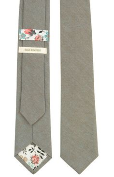 good heavens- earl grey tie