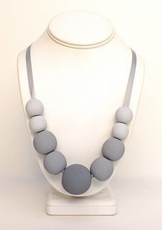 Image result for wooden bead necklace ideas