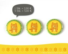 Kühlschrankmagnete - Magnet Katze | Kater Miou - ein Designerstück von Illusine bei DaWanda